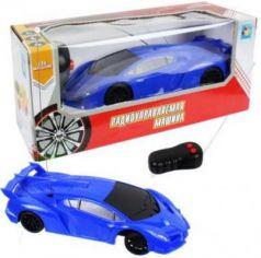 1toy Спортавто Машина на радиоуправлении, масштаб 1:26, 27 МГц, 17 см, на батарейках, 2 канала, синяя