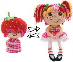 "Мягкая игрушка кукла 1toy ""Девчушка-Вывернушка. Ксюшка"", плюш 38 см"