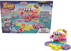 "Игровой набор ""Хома Дома"": Хомамаркет, хомячок 5х3,2х3 см, размер упак 24х37,5х12"