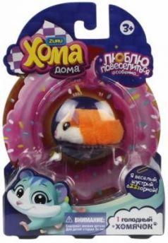 """""""Хома Дома"""" 1 хомячок оранжевый, хомячок 5х3,2х3 см, размер упак 17х12х5,1"""
