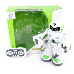 Робот радиоуправляемый Наша Игрушка Робот р/у двигающийся на радиоуправлении со звуком светящийся стреляющий