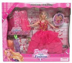 Кукла 29 см с 8 аксессуарами