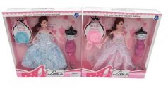 Кукла в бальном наряде
