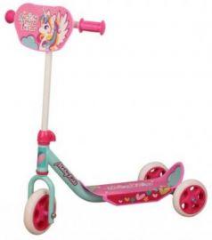 Самокат Moby Kids Мечта 150/120 мм розовый
