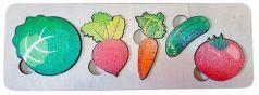 Развивающая рамка Нескучные игры Овощи