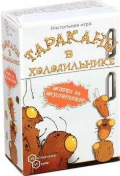 Настольная игра Нескучные игры карточная Тараканы в холодильнике
