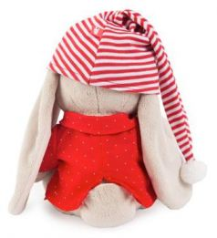 Мягкая игрушка BUDI BASA Зайка Ми искусственный мех 18 см SidS-158