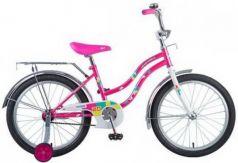 """Велосипед NOVATRACK 20"""" TETRIS,розовый,тормоз нож.,крылья цвет., багажник хром."""