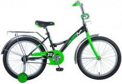 """Велосипед Novatrack """"Strike"""" 20"""" черно-зеленый"""