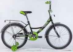 """Велосипед Novatrack URBAN 20"""" черный"""