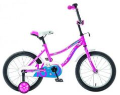 "Велосипед Novatrack Neptune 16"" розовый 163NEPTUN.PN9"