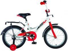 """Велосипед Novatrack Strike 18"""" бело-красный 183STRIKE.WTR8"""