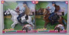 Кукла с лошадью, в ассорт. в кор. в кор.2*12шт