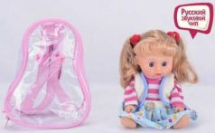 Кукла на бат. озвуч. руссифиц. AV1028 в сумке в кор.2*48шт
