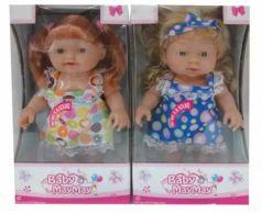 Кукла Наша Игрушка Моя радость 24 см со звуком