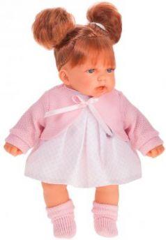 Кукла JUAN ANTONIO Дели в розовом 27 см со звуком