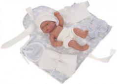 Кукла-младенец JUAN ANTONIO Фернандо в голубом 26 см