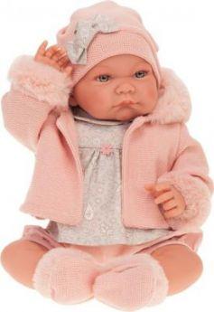 Кукла JUAN ANTONIO Наталия в розовом 40 см