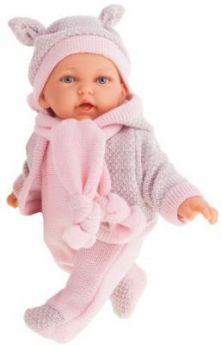 Кукла JUAN ANTONIO Ромина в розовом 27 см со звуком