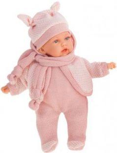Кукла JUAN ANTONIO Ромина в светло-розовом 27 см со звуком