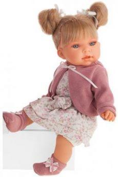Кукла JUAN ANTONIO Альма в фиолетовом 37 см со звуком