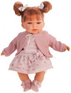 Кукла JUAN ANTONIO Альма в розовом 37 см со звуком