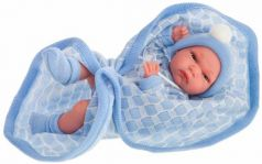Кукла-младенец JUAN ANTONIO Адольфо в голубом 33 см
