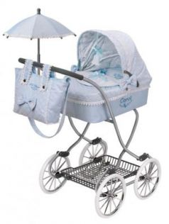 Коляска с сумкой и зонтиком DeCuevas Кэрол