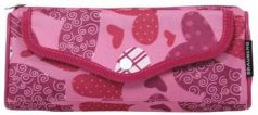 "Пенал-косметичка BRAUBERG, полиэстер, розовый, ""Каприз"", 21х5х8 см, 223904"