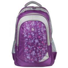 Рюкзак ручка для переноски BRAUBERG Цветочный узор 25 л мультиколор