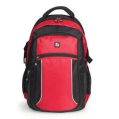 Рюкзак ручка для переноски BRAUBERG Пламя 20 л черный красный