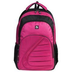 Рюкзак ручка для переноски BRAUBERG Спорт 25 л розовый черный