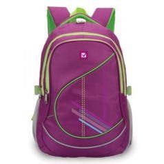 Рюкзак ручка для переноски BRAUBERG Крокус 30 л фиолетовый