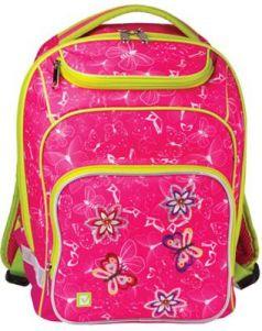Рюкзак ручка для переноски BRAUBERG Рюкзак BRAUBERG для учениц начальной школы 15 л розовый