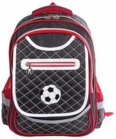 Рюкзак ручка для переноски BRAUBERG Рюкзак BRAUBERG для учеников начальной школы 14 л черный красный