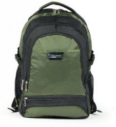 """Рюкзак ручка для переноски BRAUBERG Рюкзак для школы и офиса BRAUBERG """"StreetRacer 1"""" 30 л черный зеленый"""