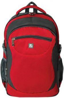 "Рюкзак ручка для переноски BRAUBERG Рюкзак для школы и офиса BRAUBERG ""StreetBall 2"" 30 л серый красный"