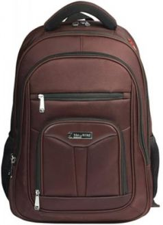 """Рюкзак ручка для переноски BRAUBERG Рюкзак для школы и офиса BRAUBERG """"Brownie"""" 35 л коричневый"""