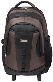 """Рюкзак ручка для переноски BRAUBERG Рюкзак для школы и офиса BRAUBERG """"Jax 2"""" 35 л черный коричневый"""
