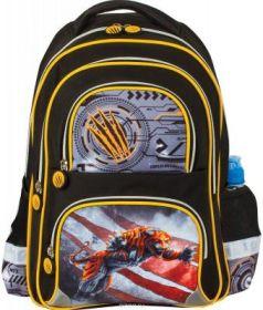 """Рюкзак BRAUBERG, с EVA спинкой, для учеников начальной школы, """"Тигр"""", 12 литров, 38х30х14 см, 226398"""