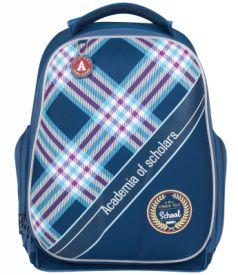 Школьный рюкзак с анатомической спинкой Tiger Family Академия 20 л синий