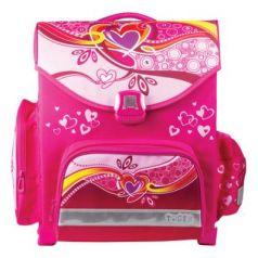 Ранец ортопедический Tiger Family (ТАЙГЕР) Сердечки 15 л розовый