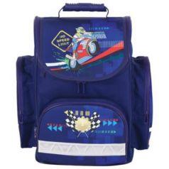 Ранец ортопедический Tiger Family (ТАЙГЕР) Мотоспорт 18 л синий