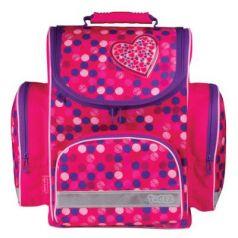 Ранец ортопедический Tiger Family ТАЙГЕР) Сердце 18 л розовый