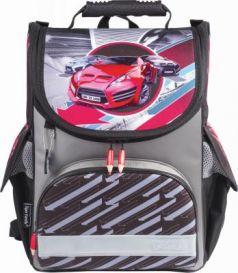 Ранец светоотражающие материалы Tiger Family Red Speedster 13 л черный