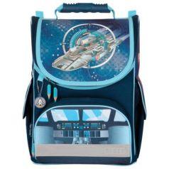 Ранец светоотражающие материалы Tiger Family Silver Space 13 л синий