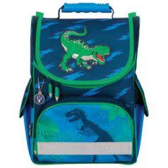 Ранец светоотражающие материалы Tiger Family Dino Action 13 л синий