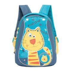 Рюкзак с усиленной спинкой GRIZZLY RS-893-1/2 7 л голубой