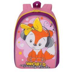 Рюкзак с усиленной спинкой GRIZZLY RS-896-2/1 12 л розовый