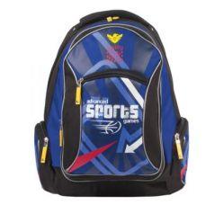"""Рюкзак ERICH KRAUSE для учеников средней школы, 17 л, """"Advanced Games"""", 42х30х14 см, 39345"""